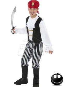 Kalóz fiú jelmez az EveNue COSTUMES jelmezkölcsönző szalon kínálatából