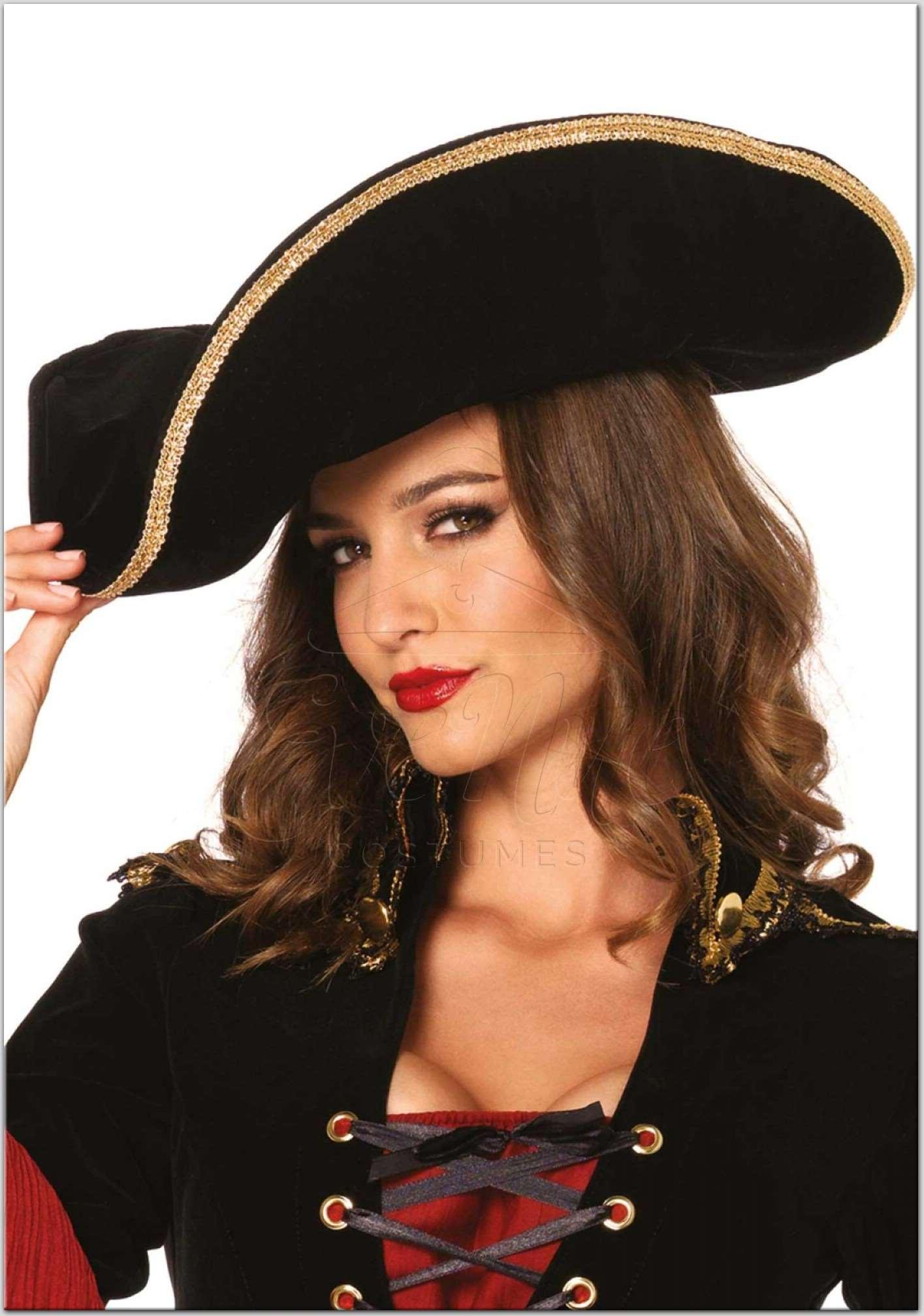 Kalóz kalap az EveNue Costumes jelmezkölcsönző szalon kínálatából