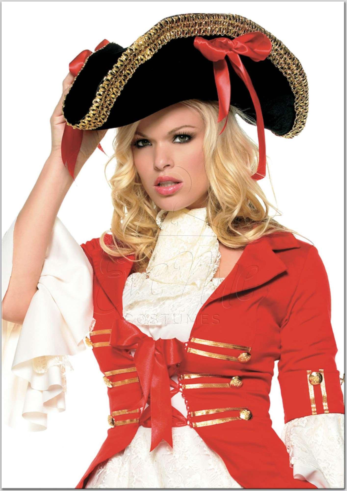 Női kalóz kalap az EveNue Costumes jelmezkölcsönző szalon kínálatából