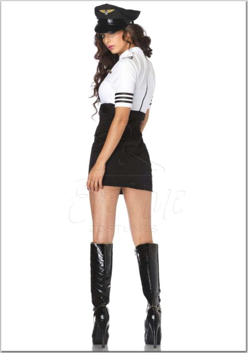 Kapitány női jelmez az EveNue Costumes jelmezkölcsönző szalon kínálatából