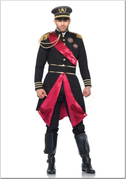 Katonai tábornok férfi jelmez az EveNue Costumes jelmezkölcsönző szalon kínálatából