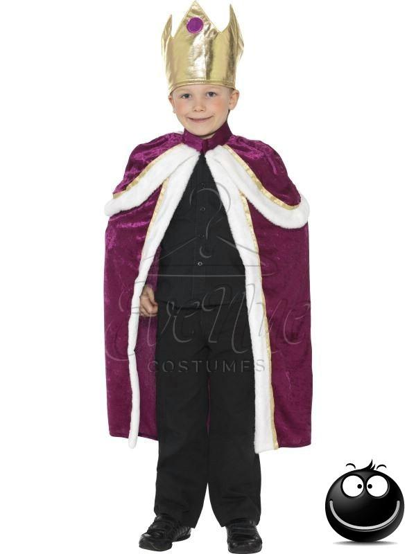 Király fiú farsangi jelmez az EveNue COSTUMES jelmezkölcsönző szalon kínálatából