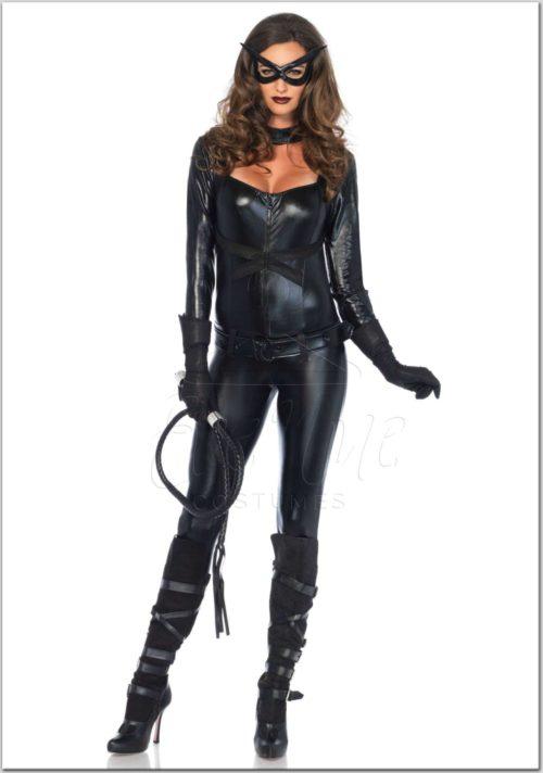 Macskanő női farsangi jelmez