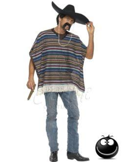 Mexikói poncsó az EveNue COSTUMES jelmezkölcsönző szalon kínálatából