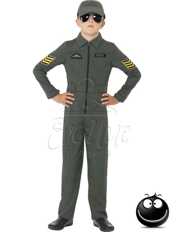Vadászpilóta fiú jelmez az EveNue COSTUMES jelmezkölcsönző szalon kínálatából
