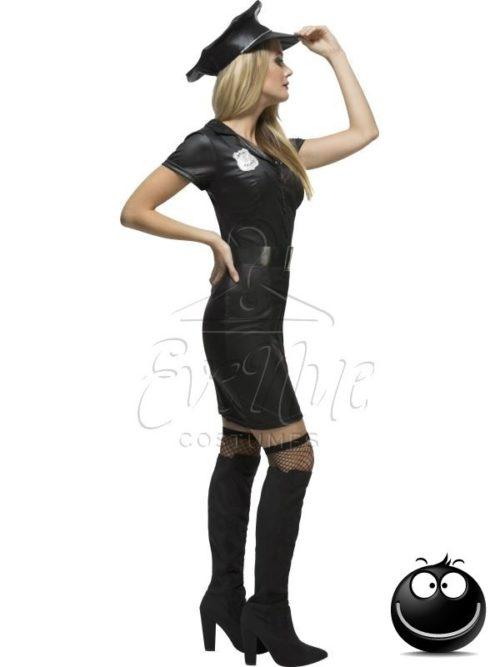 Rendőr női farsangi jelmez az eveNue COSTUMES jelmezkölcsönző szalon kínálatából