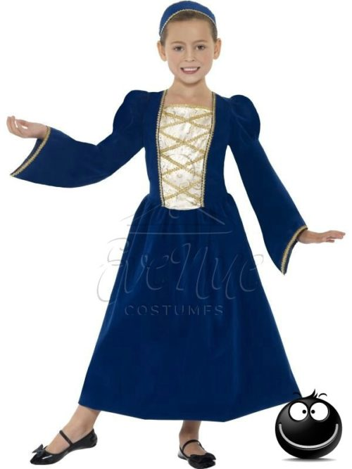 Reneszánsz lányka Jelmez az EveNue COSTUMES jelmezkölcsönző szalon kínálatából