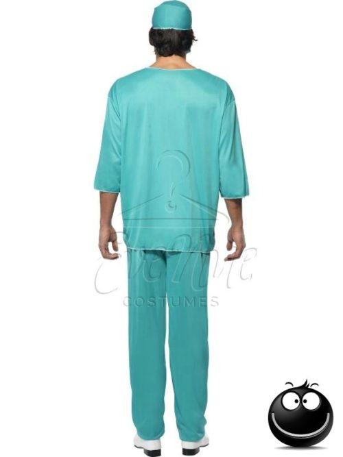 Sebész férfi jelmez az EveNue COSTUMES jelmezkölcsönző szalon kínálatából