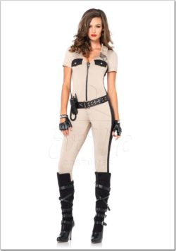 Sheriff női jelmez az EveNue Costumes jelmezkölcsönző szalon kínálatából