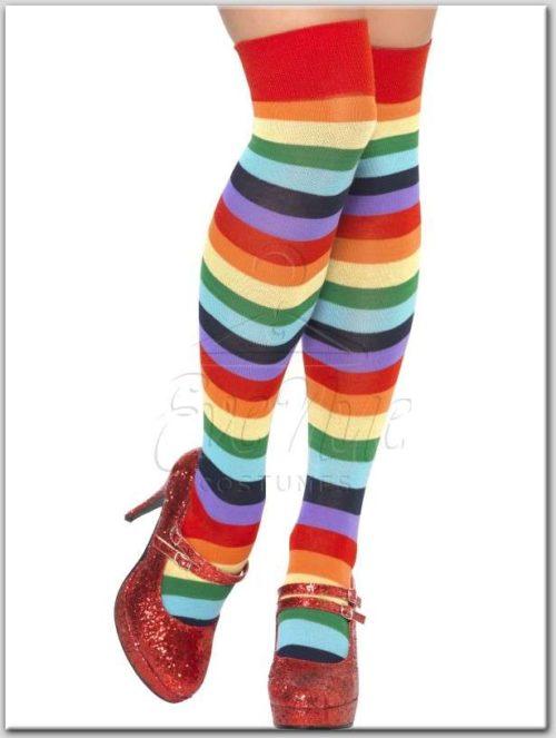 Női színes combfix az EveNue Costumes jelmezkölcsönző szalon kínálatából