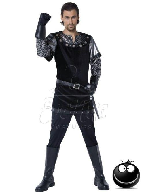 Lovag férfi jelmez az EveNue COSTUMES jelmezkölcsönző szalon kínálatából