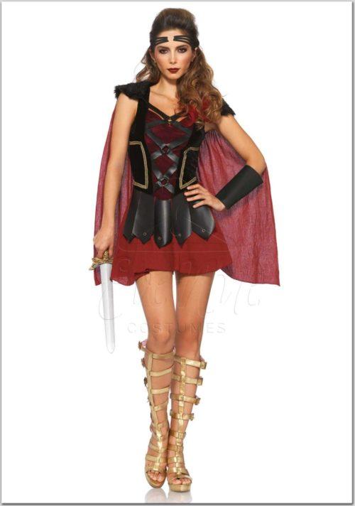trójai harcos női jelmez az EveNue Costumes jelmezkölcsönző szalon kínálatából