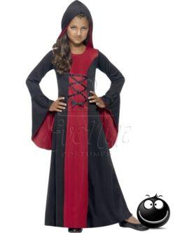 Vámpír Halloween lányka jelmez az EveNue COSTUMES jelmezkölcsönző szalon kínálatából