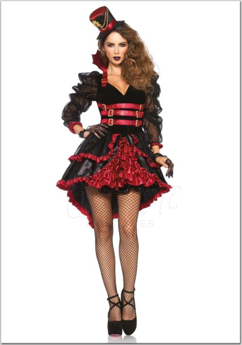 Vámpír női jelmez az EveNue Costumes jelmezkölcsönző szalon kínálatából