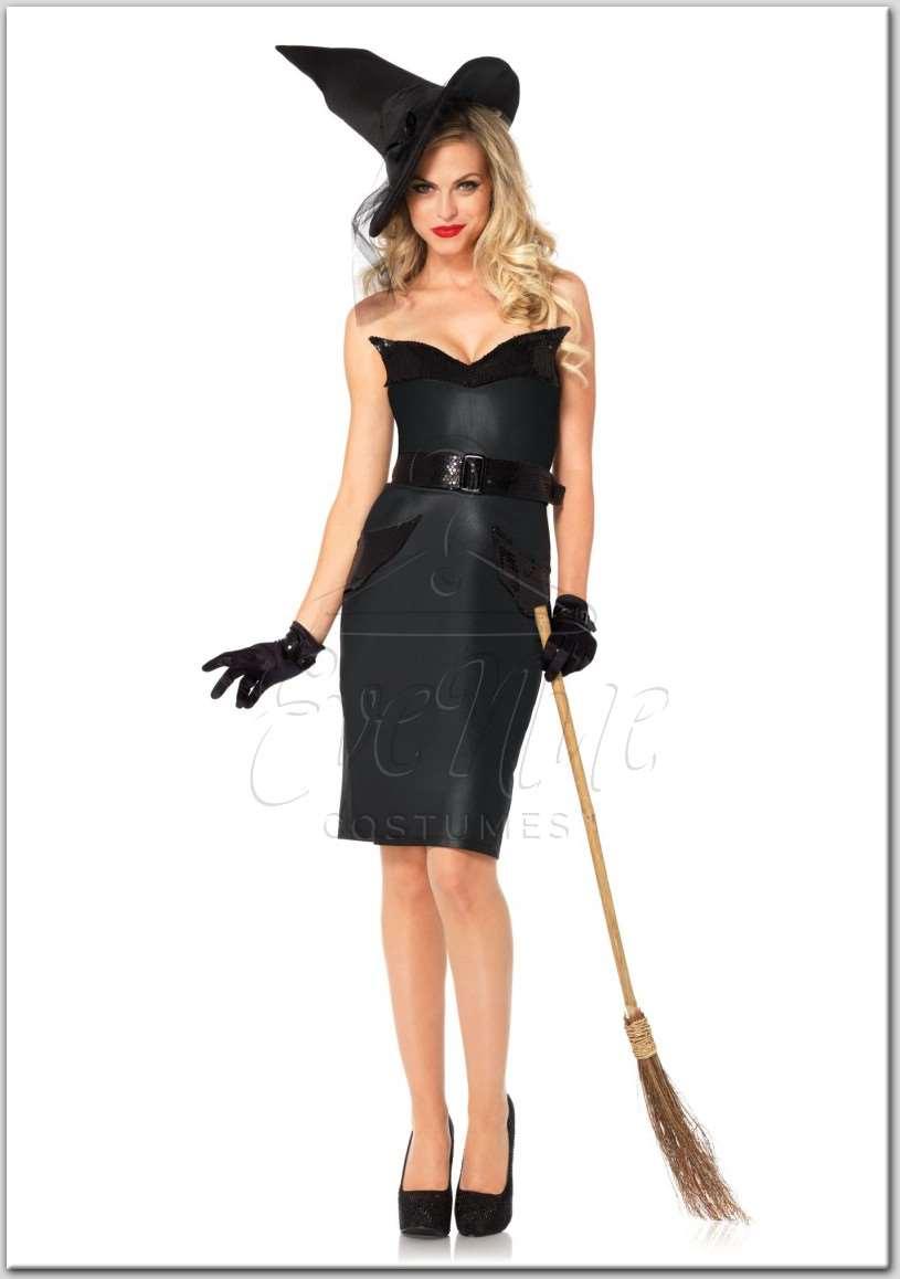 Boszorkány női jelmez az EveNue Costumes jelmezkölcsönző szalon kínálatából