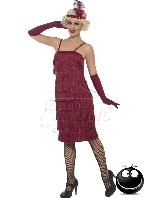 Charleston női ruha az EveNue COSTUMES jelmezkölcsönző szalon kínálatából