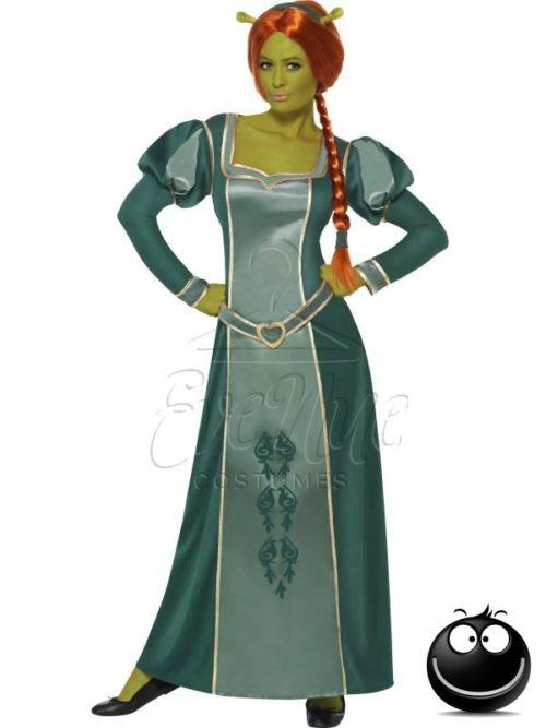 Shrek - Fiona női jelmez az EveNue COSTUMES jelmezkölcsönző szalon kínálatából