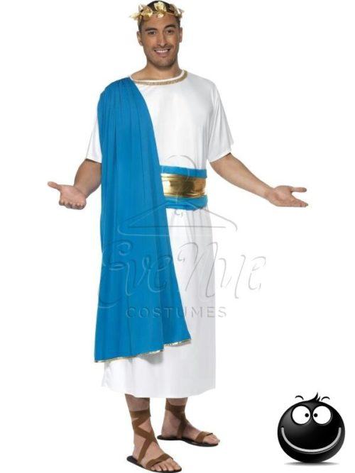 Római szenátor férfi jelmez az EveNue COSTUMES jelmezkölcsönző szalon kínálatából