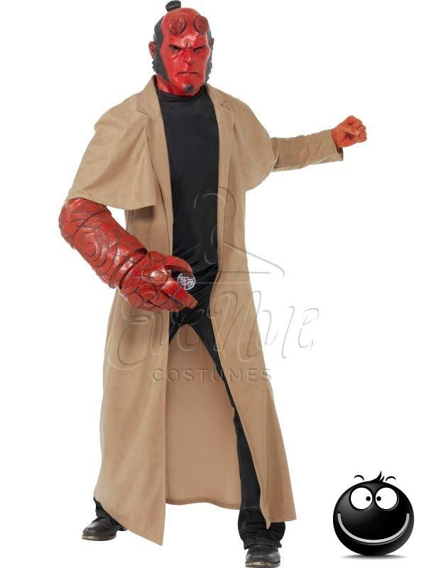 Hellboy férfi jelmez az EveNue COSTUMES jelmezkölcsönző szalon kínálatából