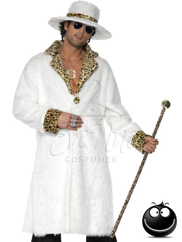 Pimp férfi jelmez az EveNue COSTUMES jelmezkölcsönző szalon kínálatából