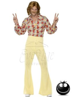 Hippi férfi jelmez az EveNue COSTUMES jelmezkölcsönző szalon kínálatából