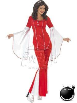 Disco női jelmez az EveNue COSTUMES jelmezkölcsönző szalon kínálatából