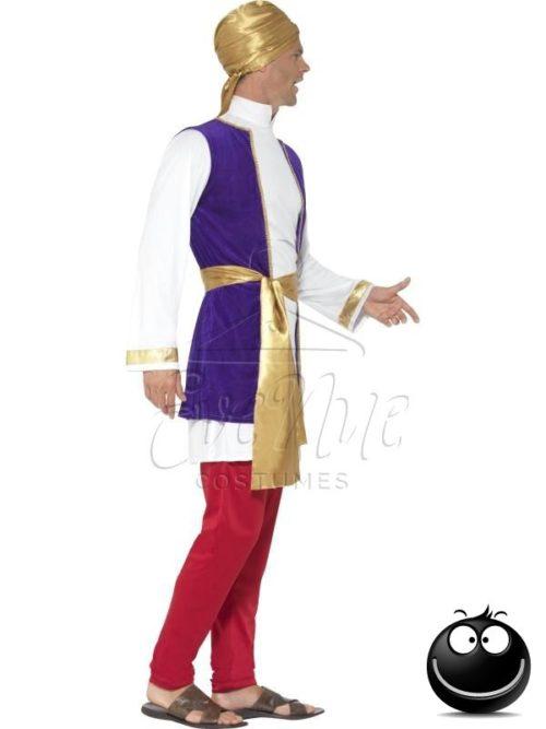 Arab herceg férfi jelmez az EveNue COSTUMES jelmezkölcsönző szalon kínálatából