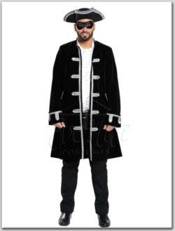 Férfi barokk kabát az EveNue COSTUMES jelmezkölcsönző szalon kínálatából
