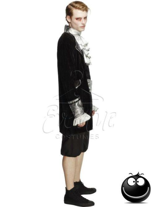 Barokk vámpír férfi jelmez az EveNue COSTUMES jelmezkölcsönző szalon kínálatából