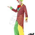 Bohóc férfi jelmez az EveNue COSTUMES jelmezkölcsönző szalon kínálatából