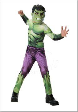 Hulk fiú gyermek jelmez az EveNue COSTUMES jelmezkölcsönző szalon kínálatából