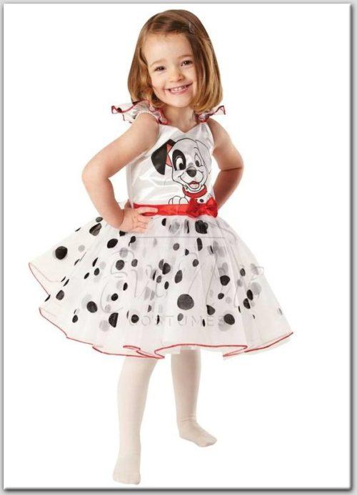 101 kiskutya balerina lány jelmez az EveNue COSTUMES jelmezkölcsönző szalon kínálatából