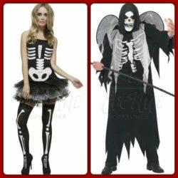 Halloween témájú páros jelmez az EveNue COSTUMES jelmezkölcsönző szalon kínálatából