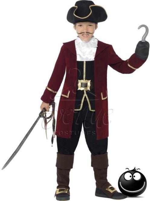 Kalóz kapitány fiú jelmez az EveNue COSTUMES jelmezkölcsönző szalon kínálatából