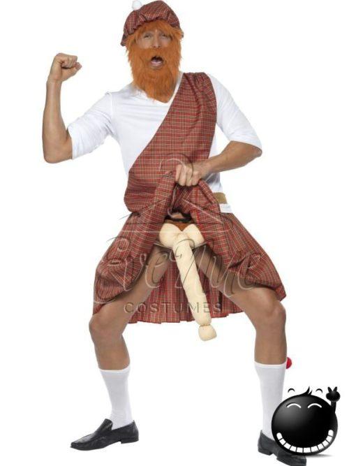 Mutogatós skót férfi jelmez az EveNue COSTUMES jelmezkölcsönző szalon kínálatából