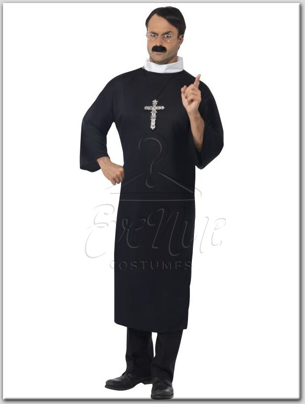 Pap férfi jelmez az EveNue COSTUMES jelmezkölcsönző szalon kínálatából