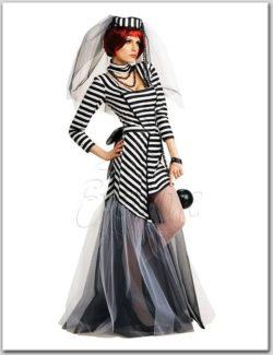 Rab menyasszony női jelmez az EveNue COSTUMES jelmezkölcsönző szalon kínálatából