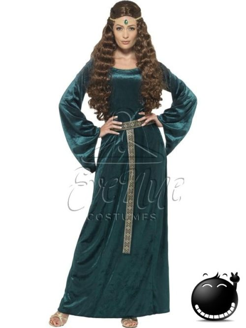 Reneszánsz női jelmez az EveNue COSTUMES jelmezkölcsönző szalon kínálatából