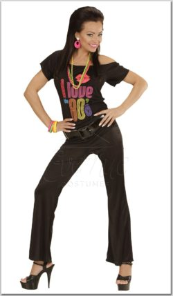 Női retrő nadrág az EveNue COSTUMES jelmezkölcsönző szalon kínálatából