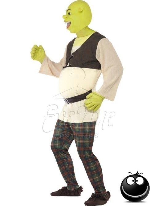 Shrek férfi jelmez az EveNue COSTUMES jelmezkölcsönző szalon kínálatából