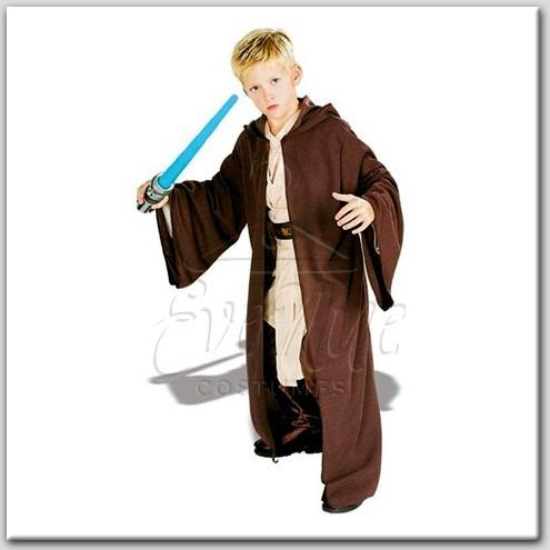 Star Wars gyermek jedi palást az EveNue COSTUMES jelmezkölcsönző szalon kínálatából