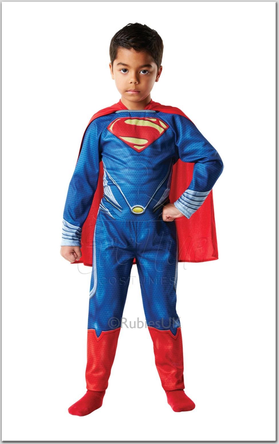 Superman fiú gyermek jelmez az EveNue COSTUMES jelmezkölcsönző szalon kínálatából