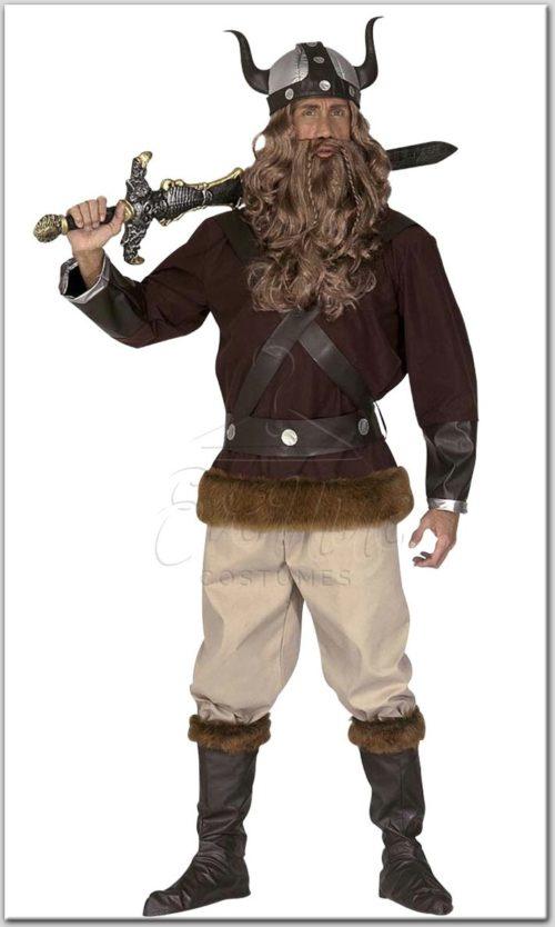 Viking férfi jelmez az EveNue COSTUMES jelmezkölcsönző szalon kínálatából