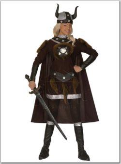 Viking királynő jelmez az EveNue COSTUMES jelmezkölcsönző szalon kínálatából