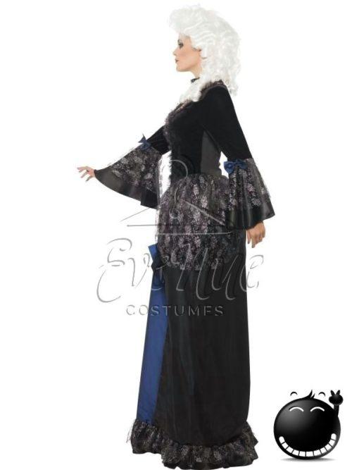 Barokk női jelmez az EveNue COSTUMES jelmezkölcsönző szalon kínálatából