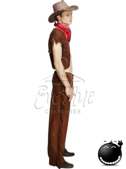 Vadnyugati cowboy férfi jelmez az EveNue COSTUMES jelmezkölcsönző szalon kínálatából