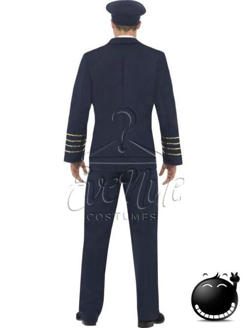 Pilóta férfi jelmez az EveNue COSTUMES jelmezkölcsönző szalon kínálatából