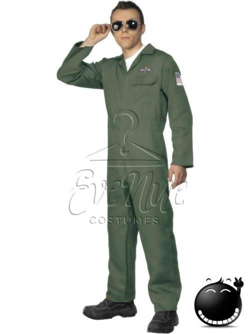 Vadászpilóta férfi jelmez az EveNue COSTUMES jelmezkölcsönző szalon kínálatából