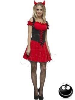 Gonosz Ördög halloween női jelmez az EveNue COSTUMES jelmezkölcsönző szalon kínálatából