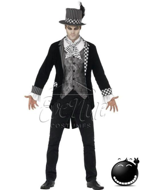 """""""Sötét kalapos"""" férfi jelmez az EveNue COSTUMES jelmezkölcsönző szalon kínálatából"""
